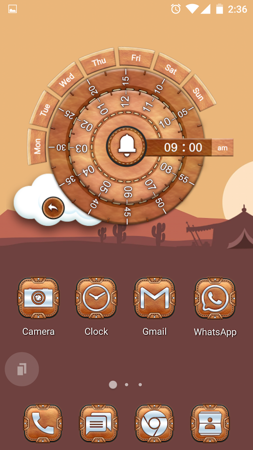 Leather Pouch-Icon Pack Screenshot 2