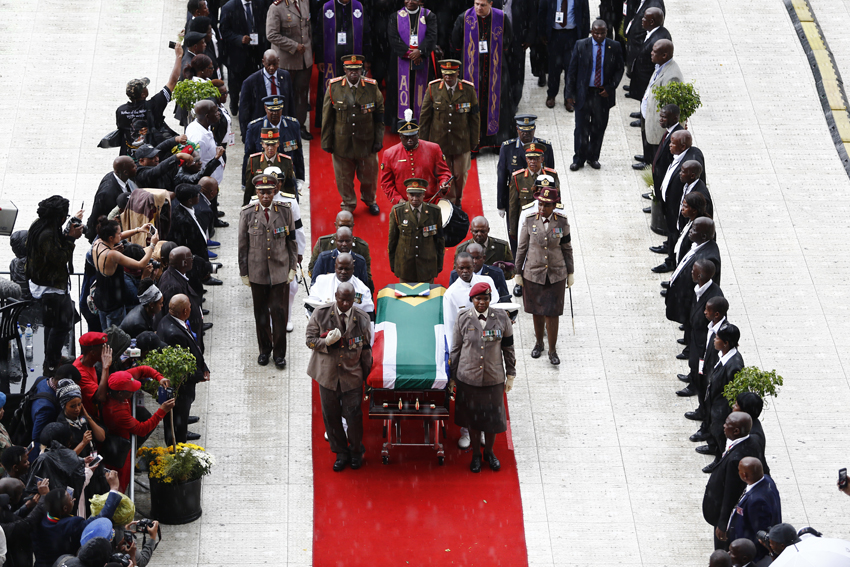 When we were heroes: Funeral was one last shake of Winnie's spear