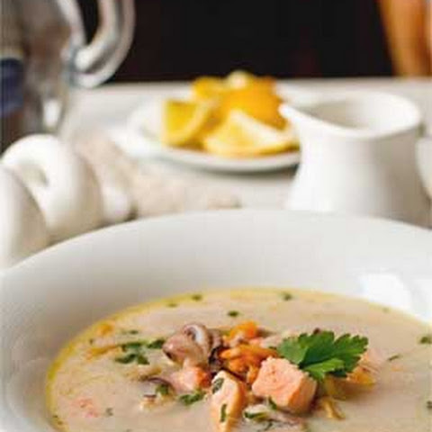 White Wine Seafood Soup