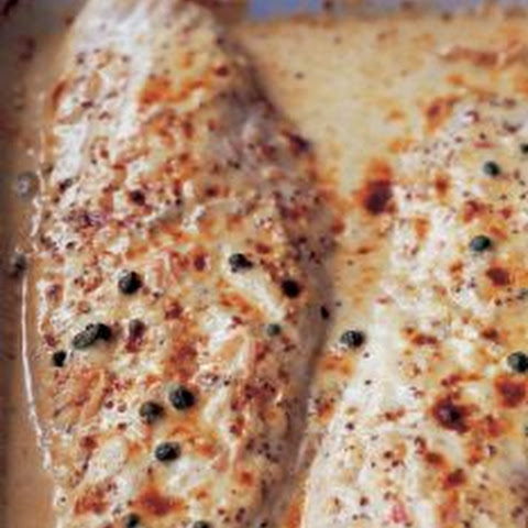 Mustard-Roasted Fish