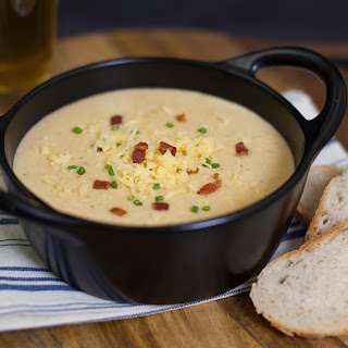 Beer Gouda Bacon Soup