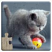 Game Cats Jigsaw Puzzles for Kids apk for kindle fire