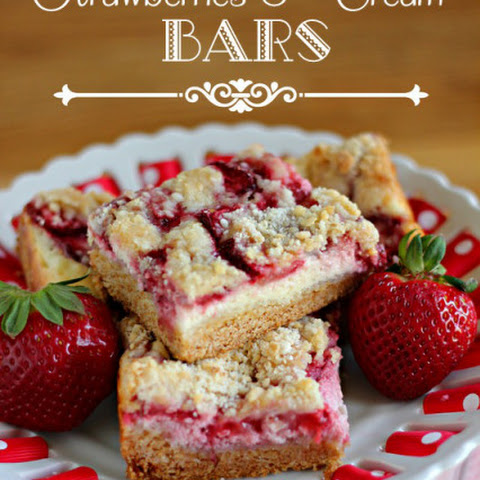 Strawberries & Cream Bars