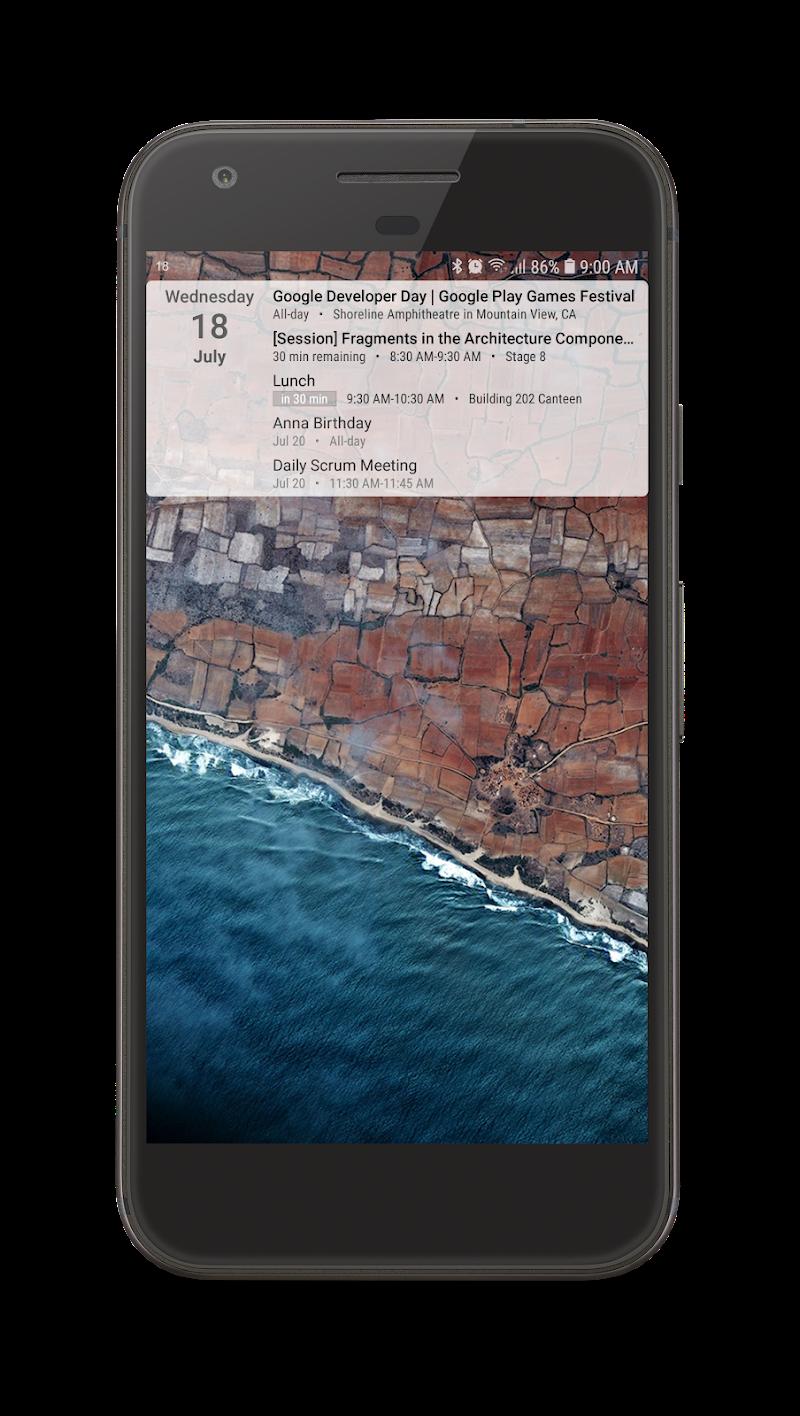 Your Calendar Widget Screenshot 7