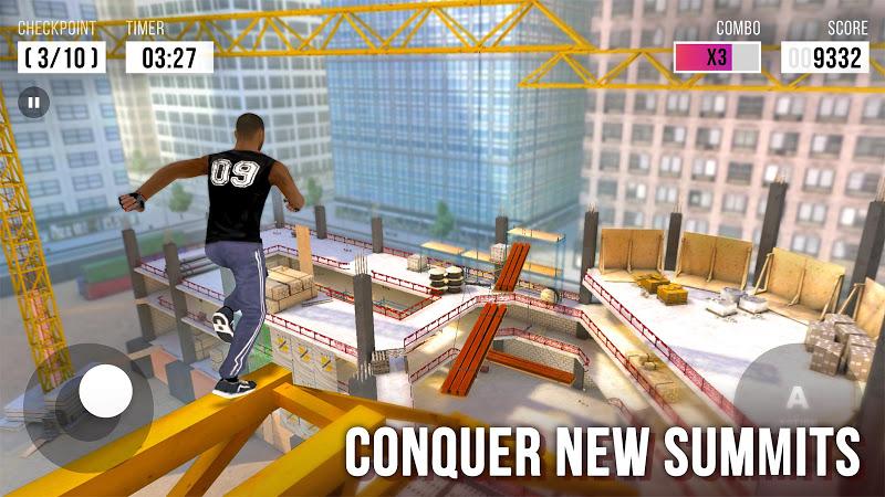 Parkour Simulator 3D Screenshot 0