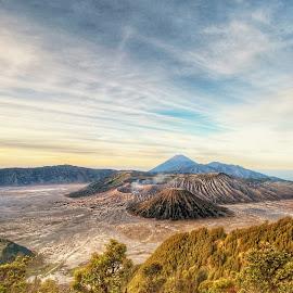 The Volcanoes by Sugiarto Wijaya - Uncategorized All Uncategorized ( volcano, indonesia, eastjava, probolinggo, active, batok, jawatimur, semeru, bromo )