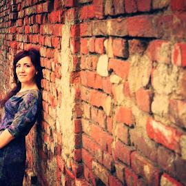 Broken walls by Victoria Burdusel - Novices Only Portraits & People