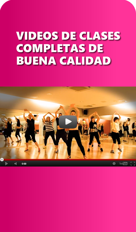 Zumba Go Fitness Workout Screenshot
