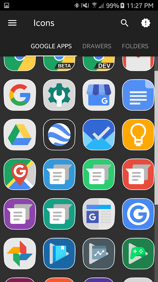phlat - icon pack Screenshot 2