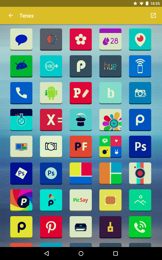 Tenex - Icon Pack Screenshot 13