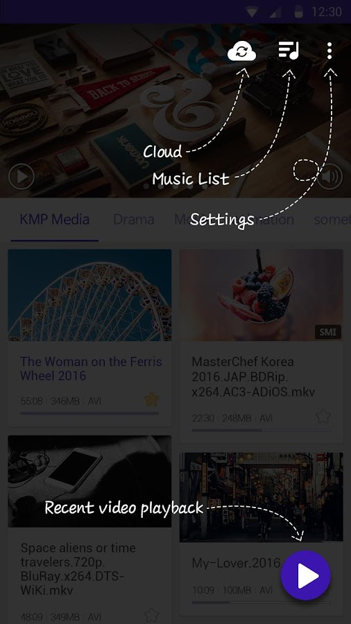 KMPlayer (Play, HD, Video) Screenshot 3