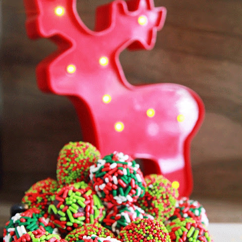 Holiday Truffles with a Boozy Twist