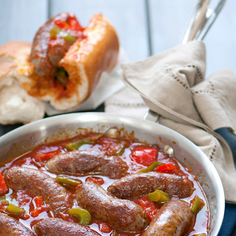 Classic Italian Sausage with Peppers & Onions