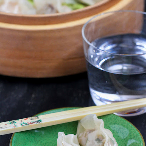 Steamed Shrimp & Mushroom Dumplings for Chinese New Year