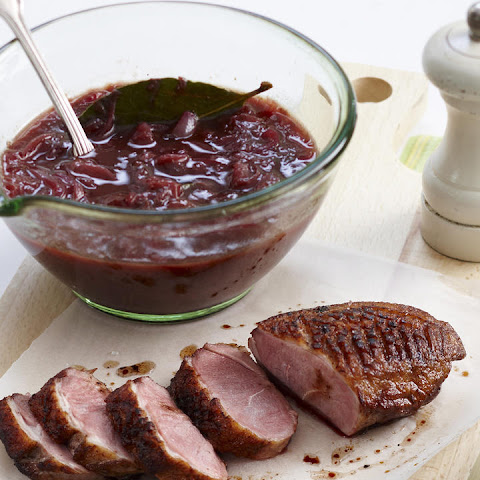 Duck with Plum Sauce