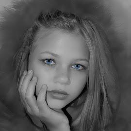 girl by Lize Hill - Digital Art People