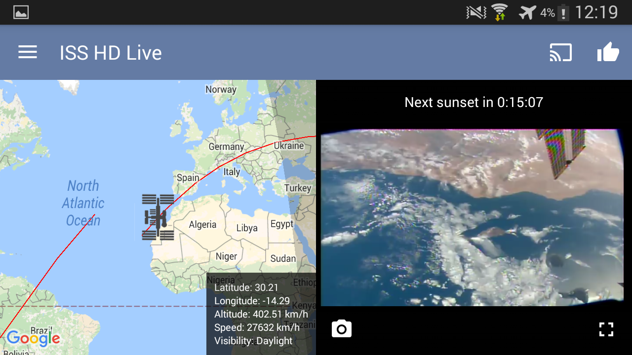 ISS HD Live | For family Screenshot 10