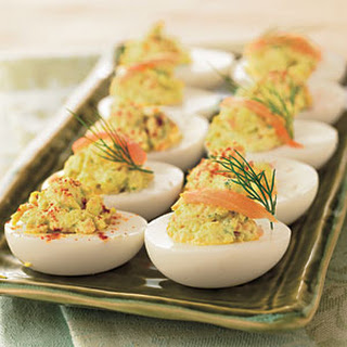 Deviled Eggs With Sour Cream And Cream Cheese Recipes