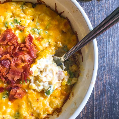 Jalapeno Corn Dip with Bacon