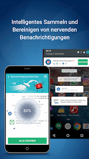 Clean Master (Boost Antivirus) – Miniaturansicht des Screenshots