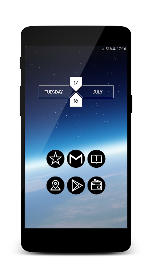 Knight - Icon Pack Screenshot 2