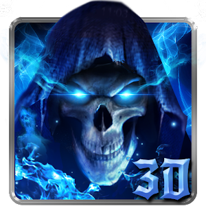 3D Blue Grim Reaper Launcher For PC / Windows 7/8/10 / Mac – Free Download