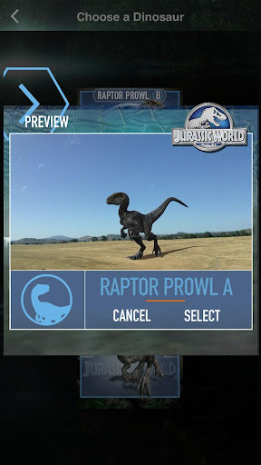 Jurassic World MovieMaker screenshot 2