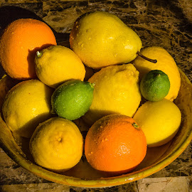 Fruit in a Bowl by Dave Lipchen - Food & Drink Fruits & Vegetables ( bowl, fruit )