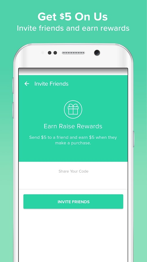 Raise: Discount Gift Cards Screenshot 4