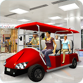 Shopping Mall Easy Taxi Driver Car Simulator Games