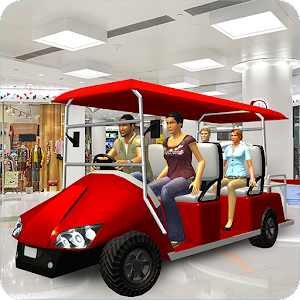Shopping Mall Easy Taxi Driver Car Simulator Games 1.0.3