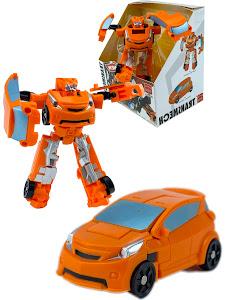 """Робот серии """"Город Игр"""" Трансформер S2 - Машинка, оранжевый"""
