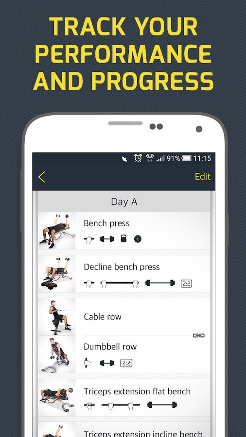 Gym Workout Tracker & Trainer Screenshot 3