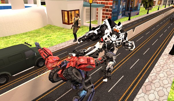 Robots War In City APK screenshot thumbnail 7