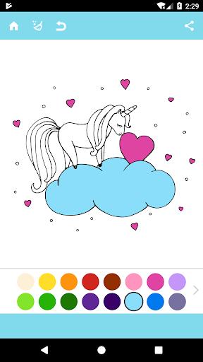 Unicorn Coloring Book For PC
