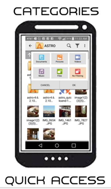 ASTRO File Manager Screenshot 0