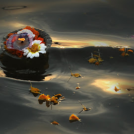 Floating fire by Alay Sankar Dawn - Artistic Objects Other Objects