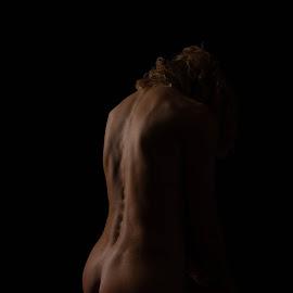 Back  by André Odermatt - Nudes & Boudoir Artistic Nude ( bodyscape, back, nude )