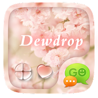 (FREE) GO SMS DEWDROP THEME For PC (Windows And Mac)