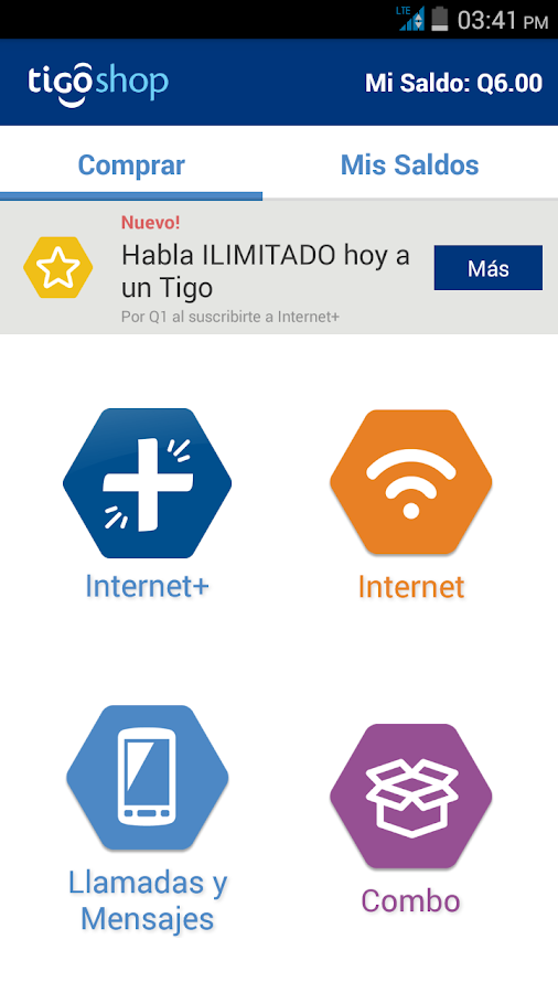 Tigo Shop Screenshot 0