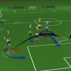 Soccer(Football) 3D Tactics Board For PC / Windows 7/8/10 / Mac – Free Download