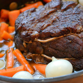 Pot Roast with Cipollini and Fennel