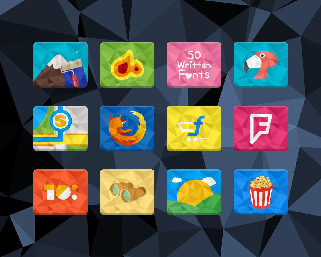 Rectron Icon Pack Theme Screenshot 6