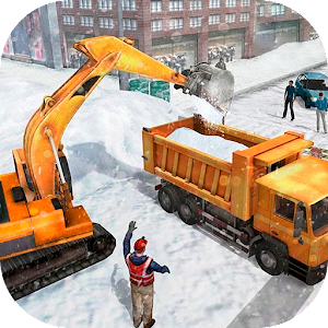 Snow Heavy Excavator Simulator Released on Android - PC / Windows & MAC