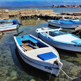 Čamci by Antonio Kovačić - Transportation Boats