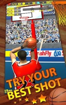 Shoot Baskets Basketball APK screenshot thumbnail 2