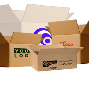 Custom Boxes with Logo by Sara Smith - Artistic Objects Business Objects ( boxes, design, logo, packaging, free shipping )