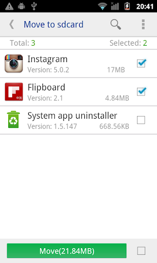 move app to sdcard pro screenshot 1