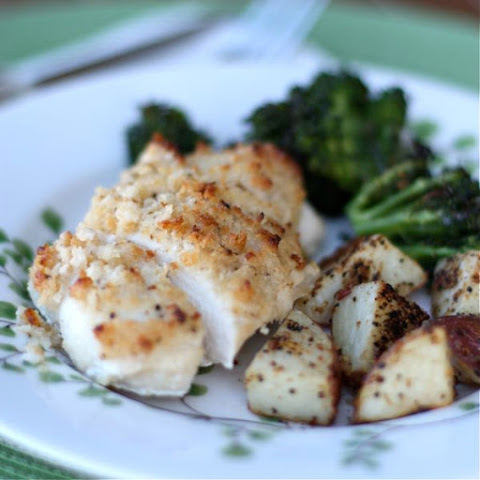 Hellmann's Parmesan-Lemon Pepper Crusted Chicken