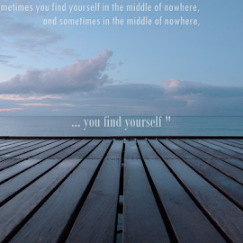 Find yourself by Theodoros Theodorou - Typography Quotes & Sentences